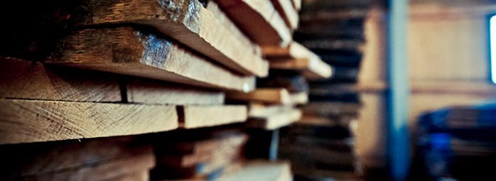 Erlesene Holzauswahl