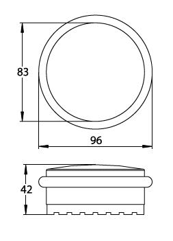 flacher boden t rstopper aus edelstahl s dmetall. Black Bedroom Furniture Sets. Home Design Ideas