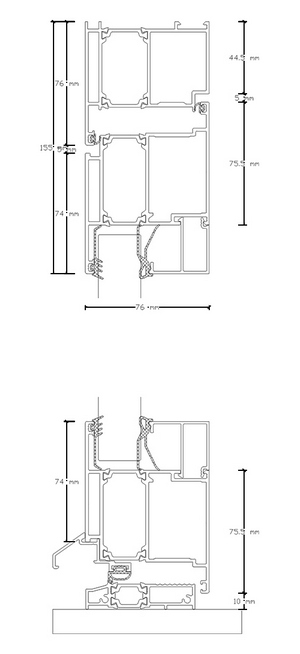 net 1048 aluminium nebeneingangst r mit glasausschnitt interio deinet. Black Bedroom Furniture Sets. Home Design Ideas