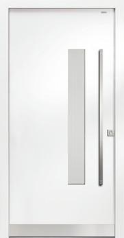 91030 glatt aluminium haust r mit glasausschnitt bayerwald deinet. Black Bedroom Furniture Sets. Home Design Ideas