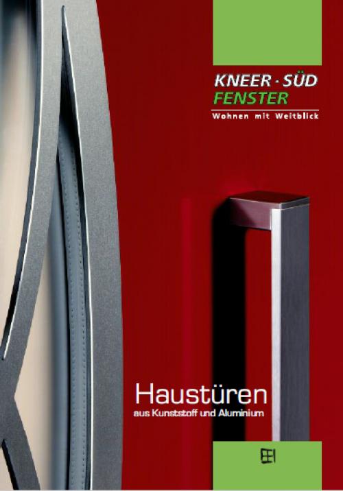 Haustüren aus Kunststoff und Aluminium - Kneer