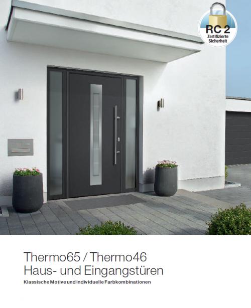 Haustüren- und Eingangstüren Thermo65 Thermo46 Katalog - Hörmann