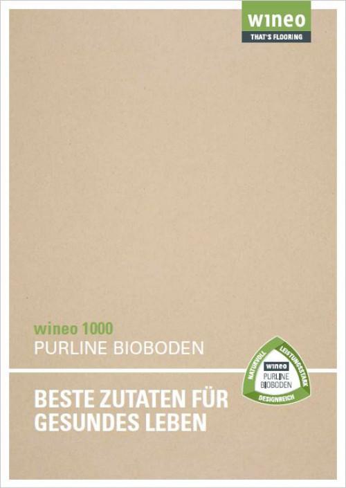 Wineo Purline Bioboden 1000 Katalog