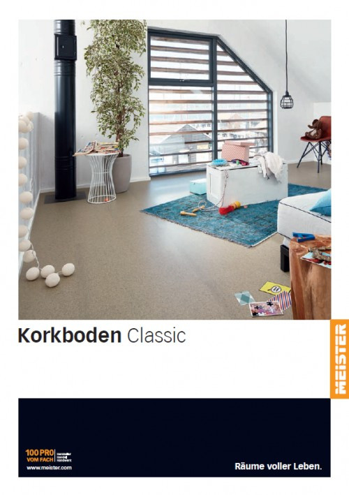 Korkboden Classic - MEISTER