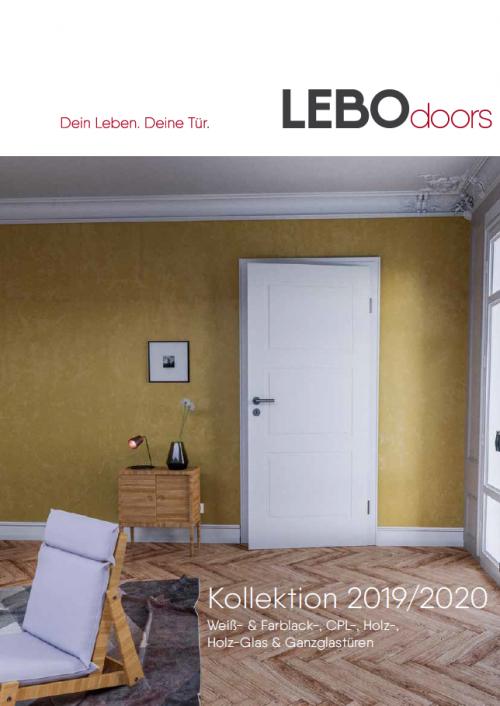 Türelemente Katalog Lebo