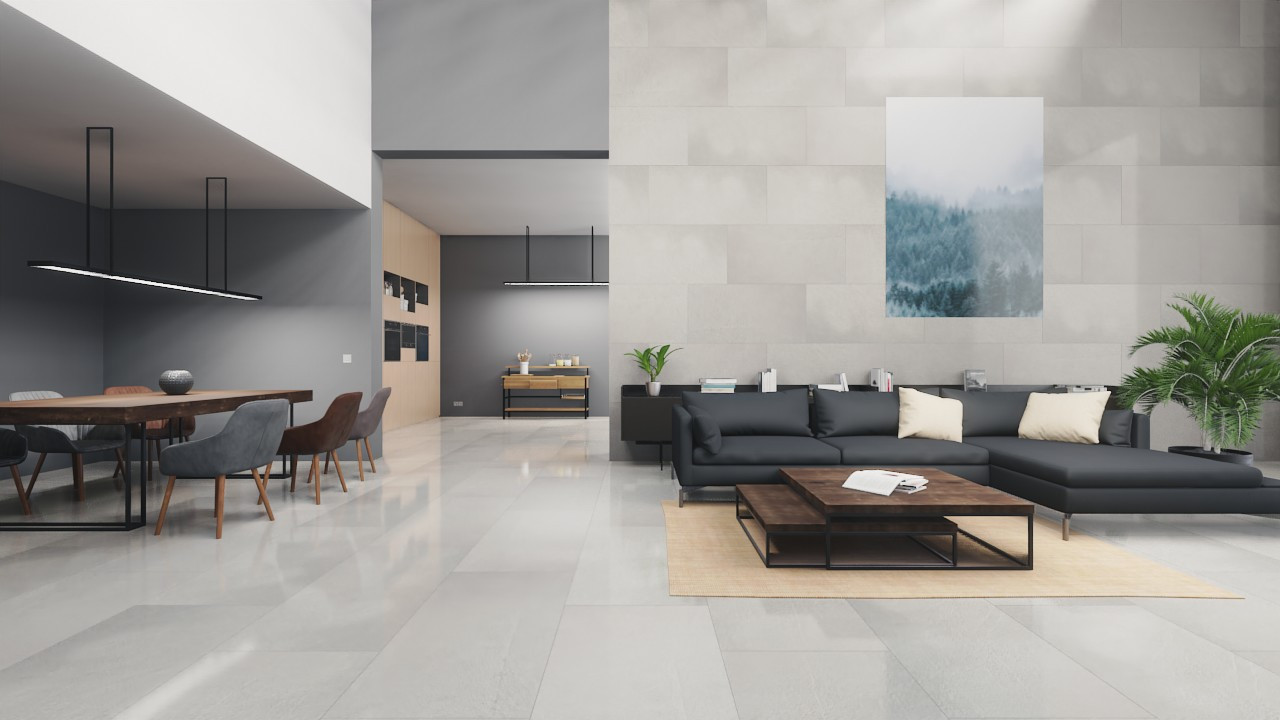 Boden- und Wandfliesen Next Gray Glänzend Nextone 60 x 120 cm Feinsteinzeug - Lea Ceramiche
