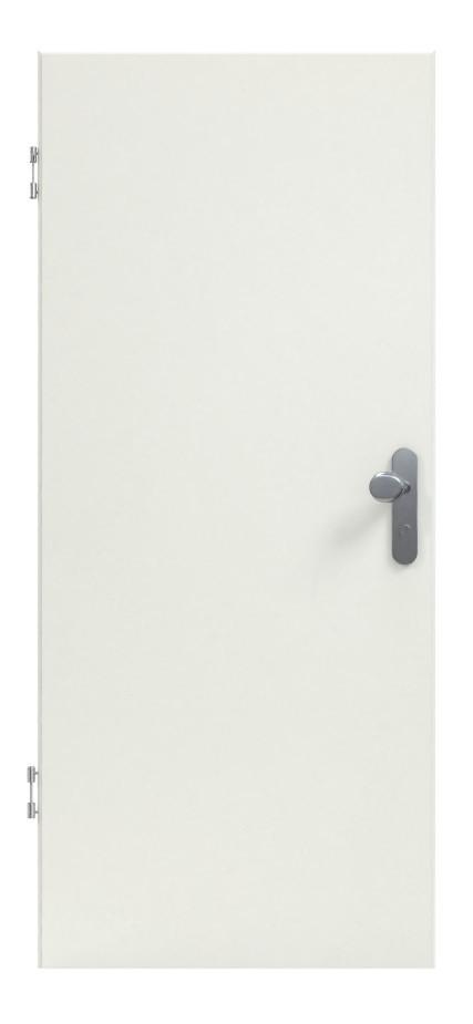 Bild 2 von Uni Weiß A 242 PortaLit Wohnungseingangstür - Westag & Getalit