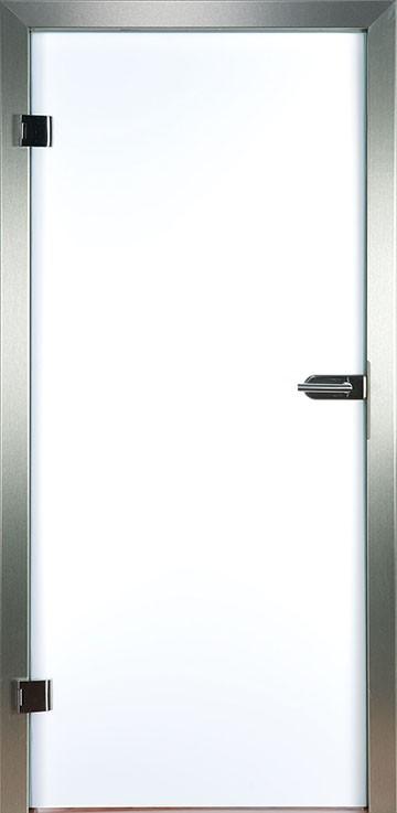Polarweiss Glastür (blickdicht) Piktura Loft - Verbundglastür