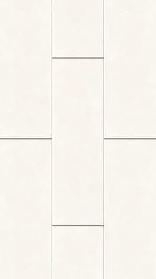 Bekannt Painted white Stein- und Fliesenoptik Laminat mit Fuge Trendtime 4 RB96