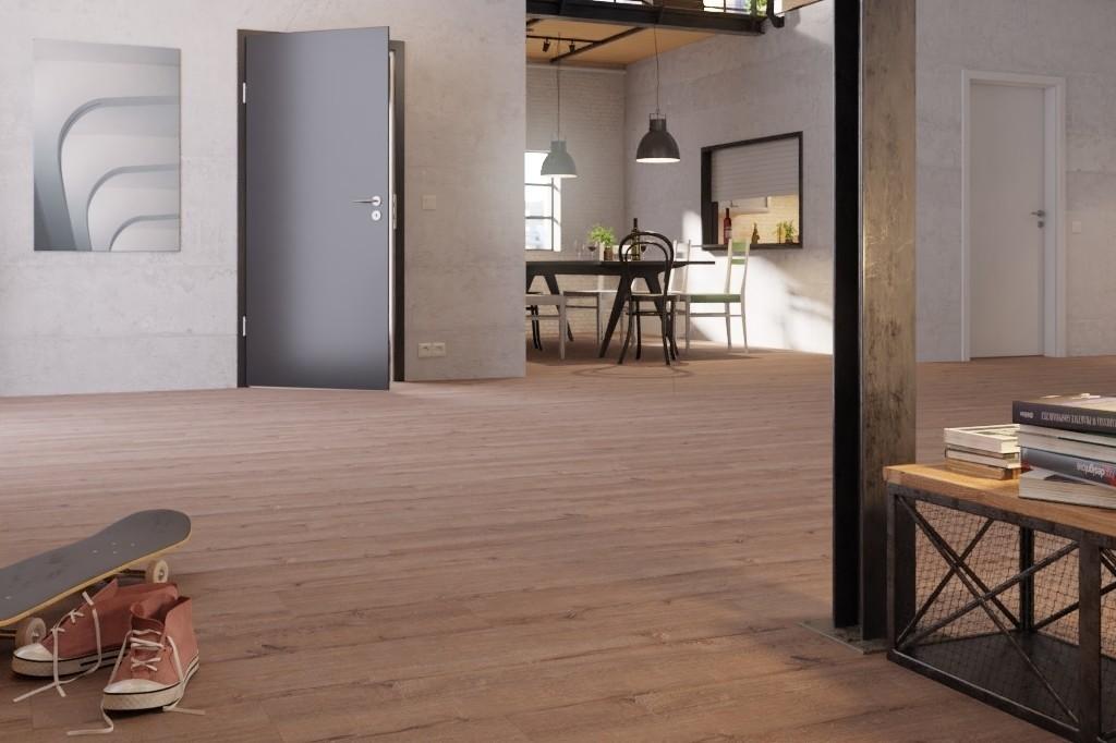 Altholzeiche lehmgrau 1-Stab Designboden Premium Meister Design. flex DD 400-6986 - Meister