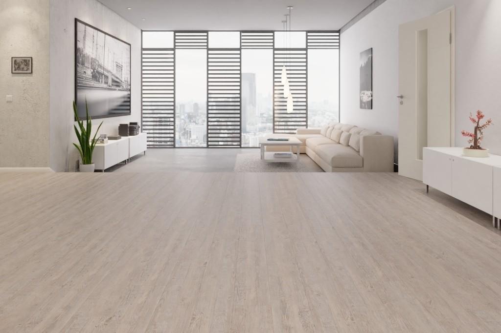 Desire Eiche Light 1-Stab Designboden zum Verkleben Wineo 400 wood - Wineo