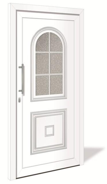 3 sterne ht 1082 kunststoff haust r mit glasausschnitt interio deinet. Black Bedroom Furniture Sets. Home Design Ideas