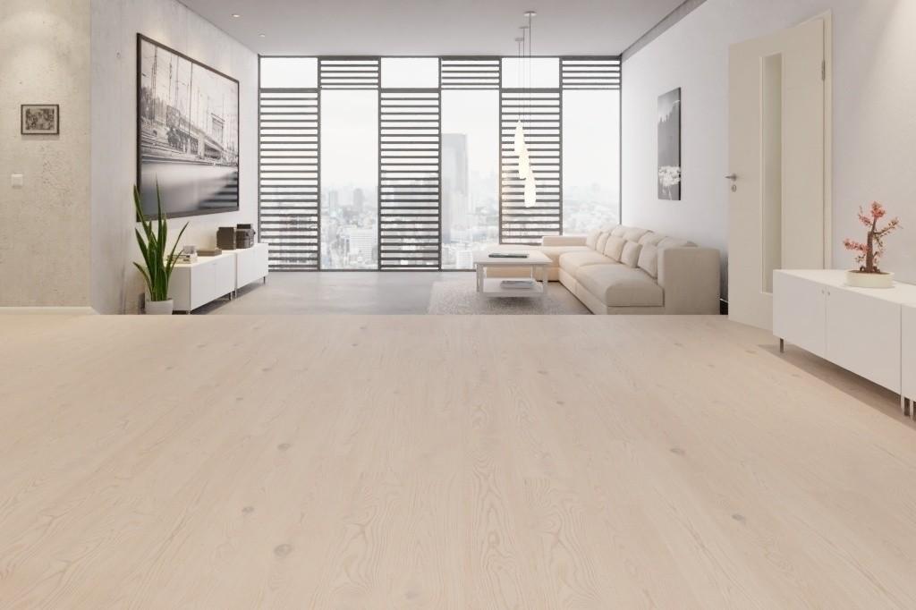Holzfußboden Weiß ~ Bodenkomplettset eiche antik weiß landhausdiele light parkett