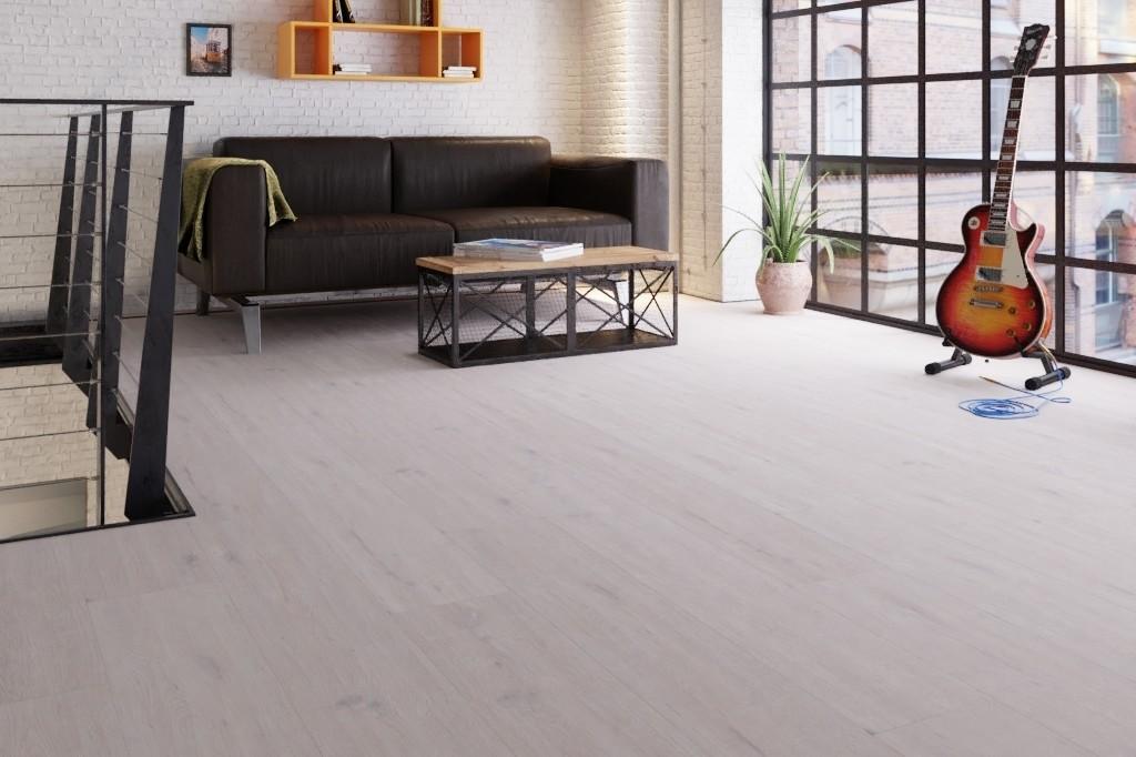 Eiche arcticweiß 1-Stab Designboden Premium Meister Design. life DD 800-6995 - Meister