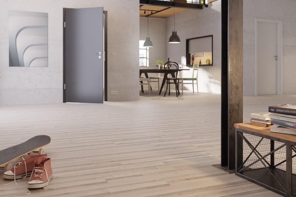 Authentischer Fußboden Aus Laminat In Attraktivem Design