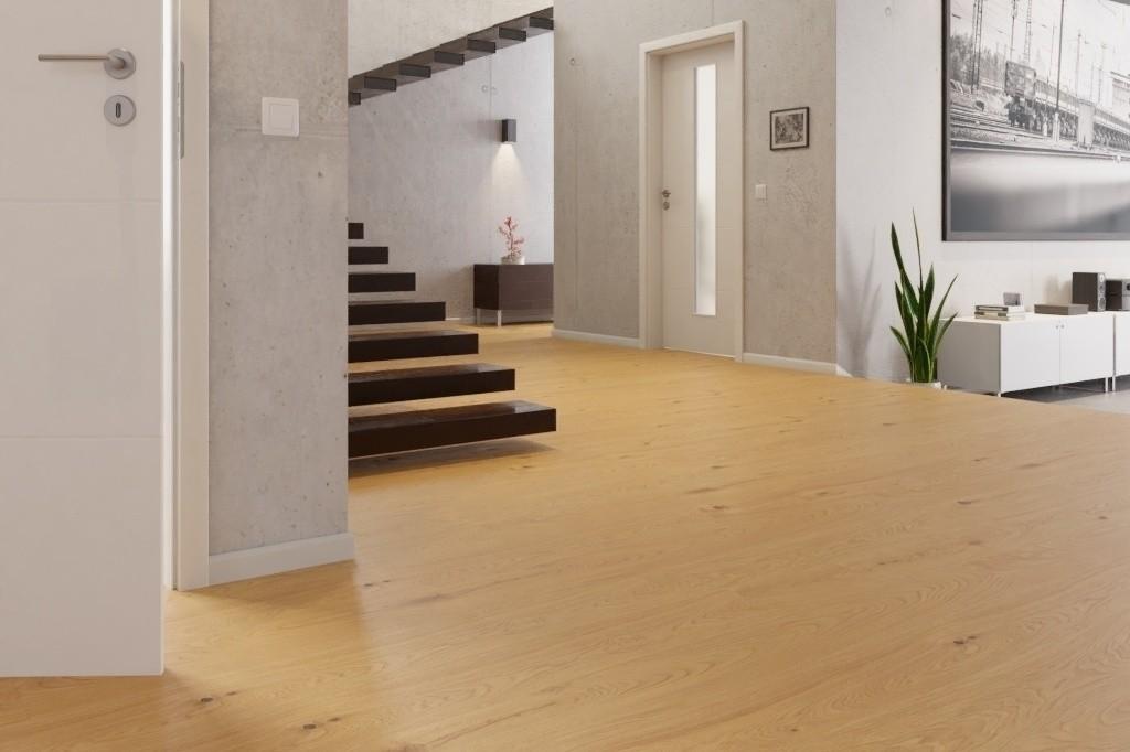 eiche rustikal landhausdiele light parkett naturge lt. Black Bedroom Furniture Sets. Home Design Ideas