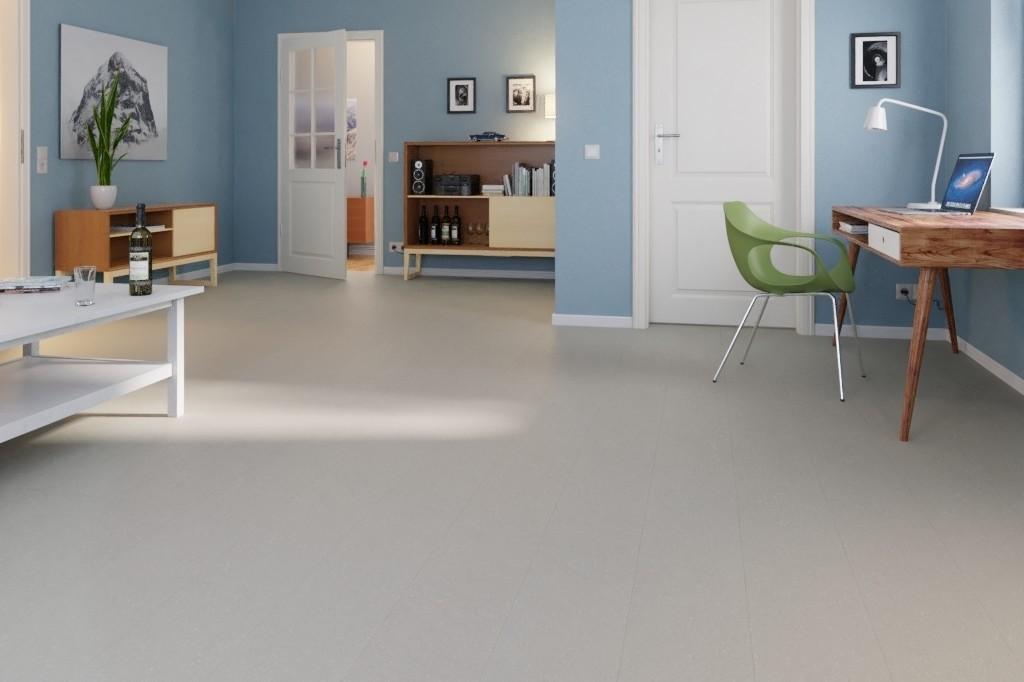 Fußboden Trittschalldämmung ~ Grau linoleum boden premium inkl. trittschalldämmung puro lid 300 s