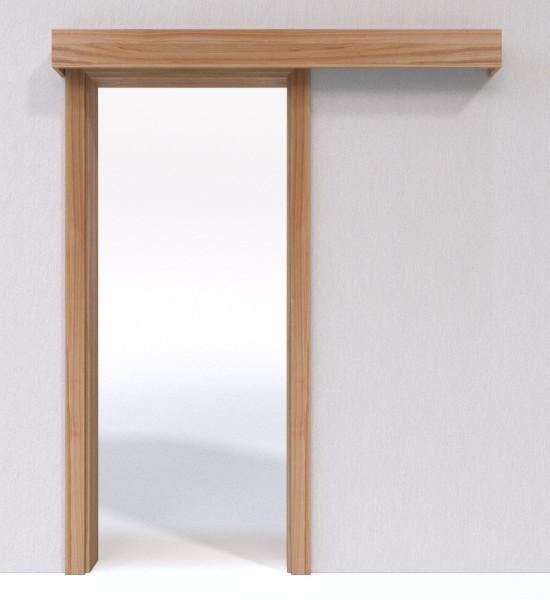 schiebet r system classic vor der wand laufend echtholzfurniert braunkernesche jeld wen. Black Bedroom Furniture Sets. Home Design Ideas