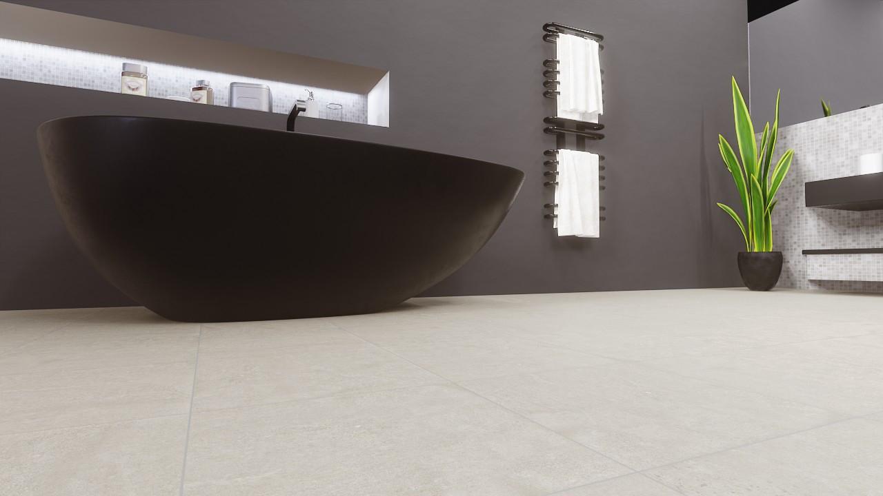 Bodenfliesen White Matt Zafira 33,3 x 33,3 cm Feinsteinzeug - Ceramika Konskie