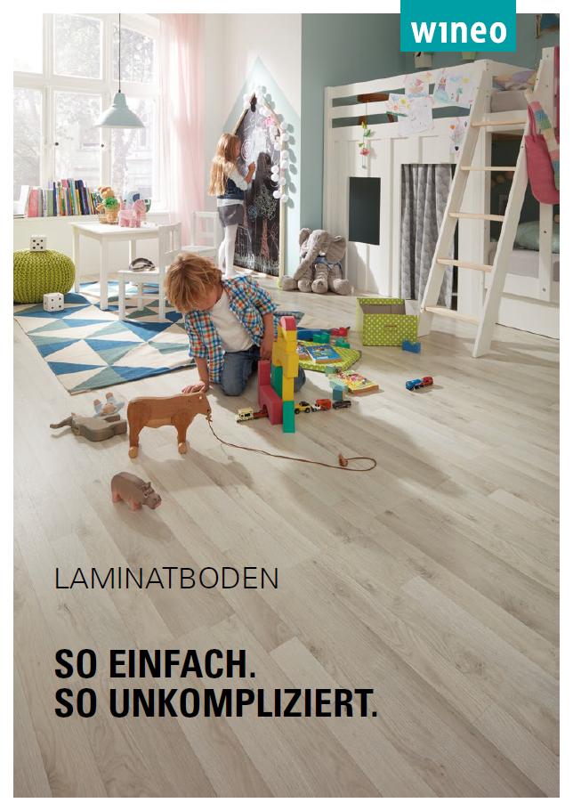 Cover Laminatboden Katalog Wineo
