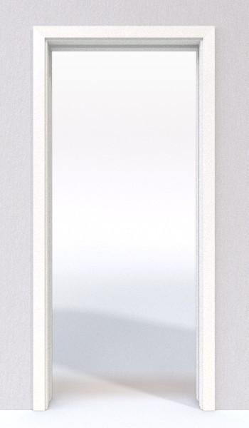 wei lack 9016 lack schiebet r system in der wand laufend lebo deinet. Black Bedroom Furniture Sets. Home Design Ideas