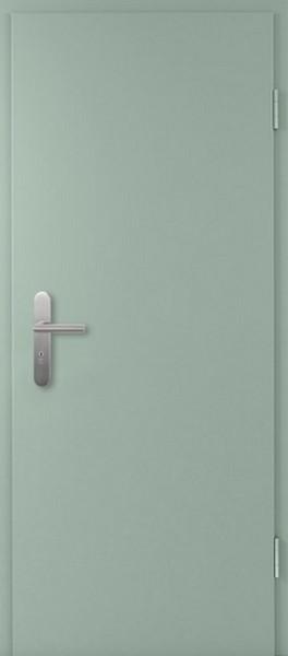 Bild von Silbergrau Lebolit-CPL Wohnungseingangstür - Lebo