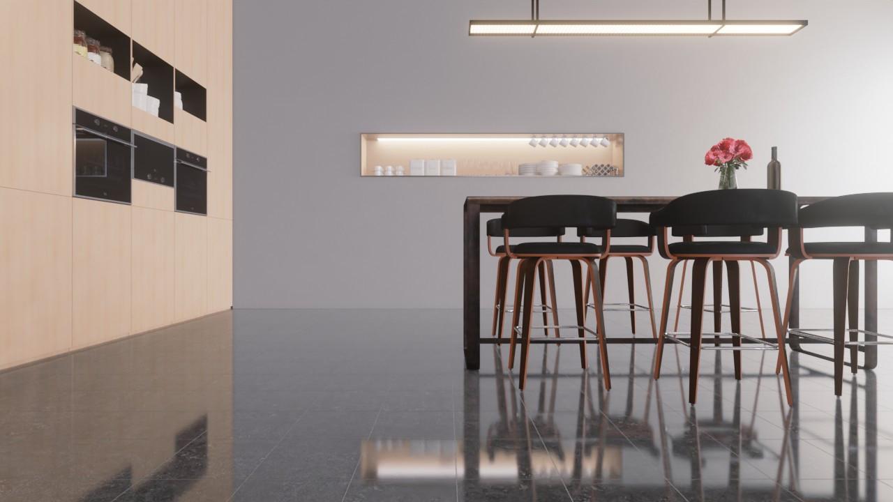Bodenfliesen Pierre Bleue Glänzend Tradizione 30 x 30 cm Feinsteinzeug - Monocibec