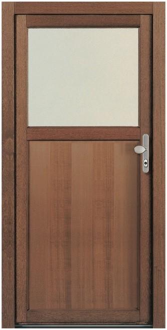 Sehr NT A 1 Holz Nebeneingangstür mit Glasausschnitt - Kneer » DeineTür.de SZ74