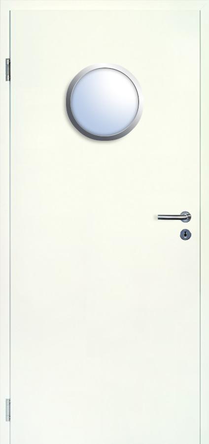 brandschutzt r t 30 typ48 weisslack 9010 glasausschnitt bullauge 350 mm jeld wen deinet. Black Bedroom Furniture Sets. Home Design Ideas