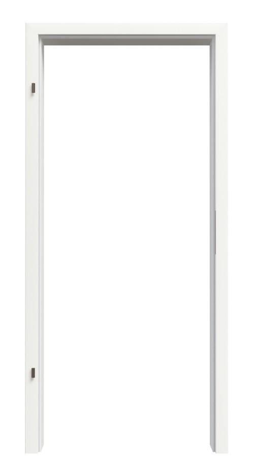 Zarge für Innentüren Weiß RAL 9016 CPL mit Rundkante - Interio