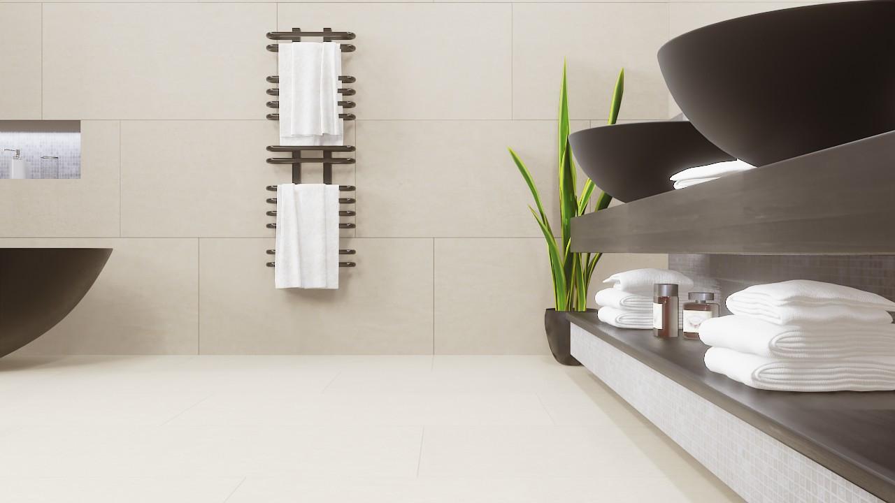 Boden- und Wandfliesen Beige Matt Concept 10 X 10 Cm