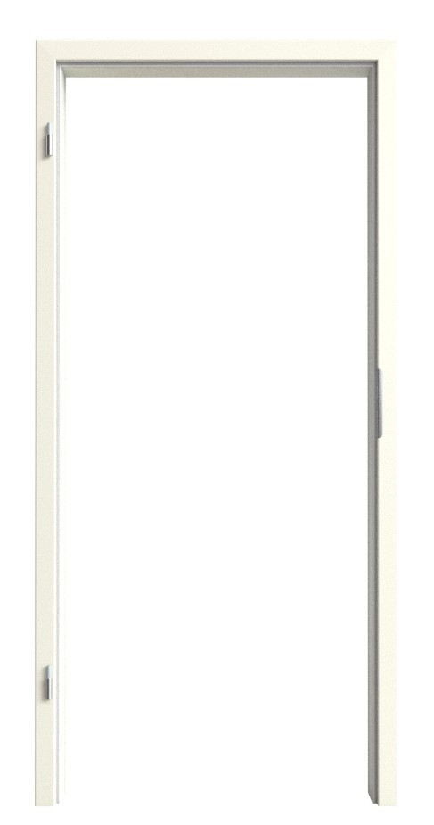 Klassik Weiß RAL 9010 WestaLack Zarge (Rundkante) - Westag & Getalit