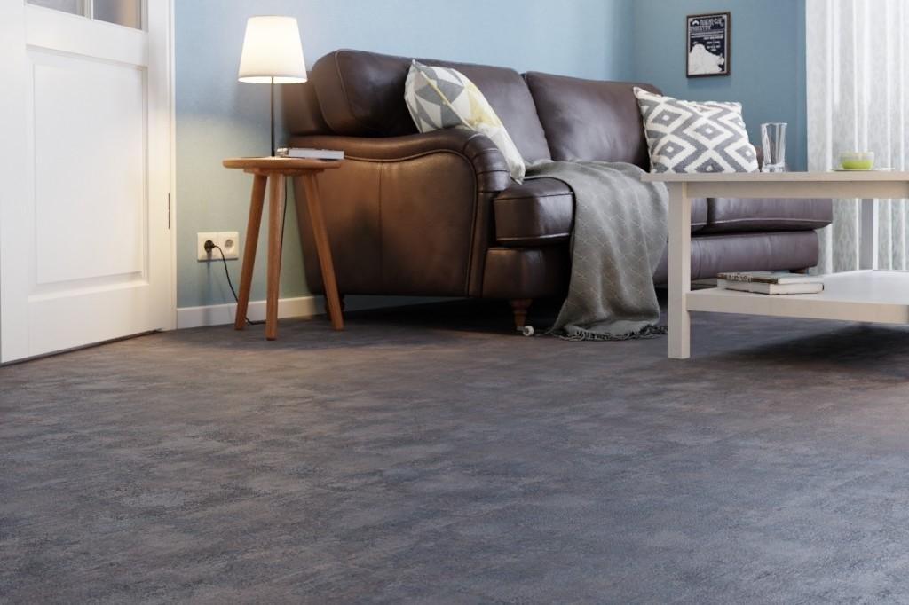 stein nordstrand dunkel fliese korkboden sch ner wohnen wicanders deinet. Black Bedroom Furniture Sets. Home Design Ideas