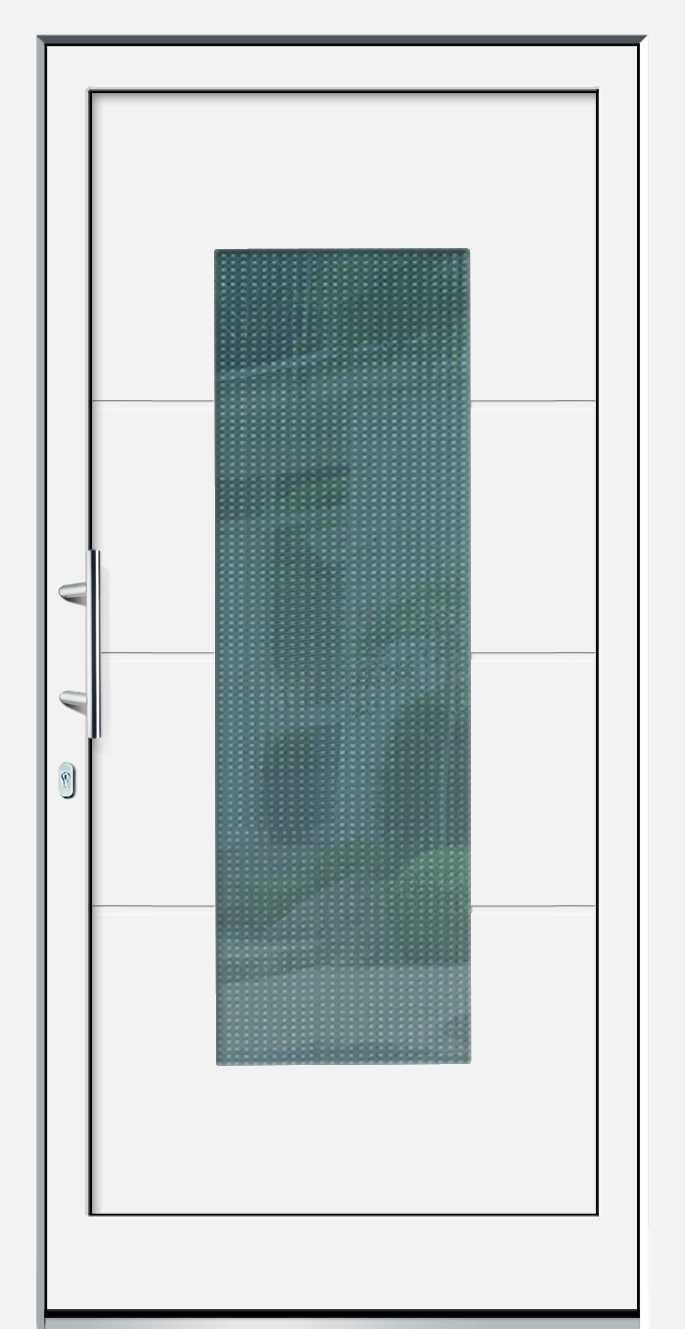 wei e basic plus aluminium haust r tabit 2 glas. Black Bedroom Furniture Sets. Home Design Ideas