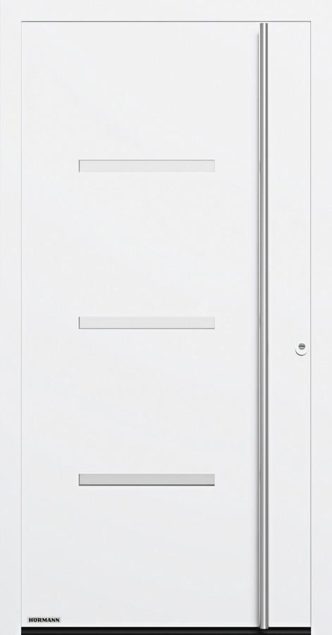 Motiv 515 Aluminium Haustur Thermosafe Mit Glasausschnitt Hormann