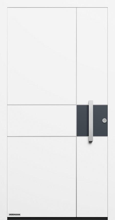 Motiv 832 Aluminium Haustur Thermosafe Ohne Glasausschnitt Hormann