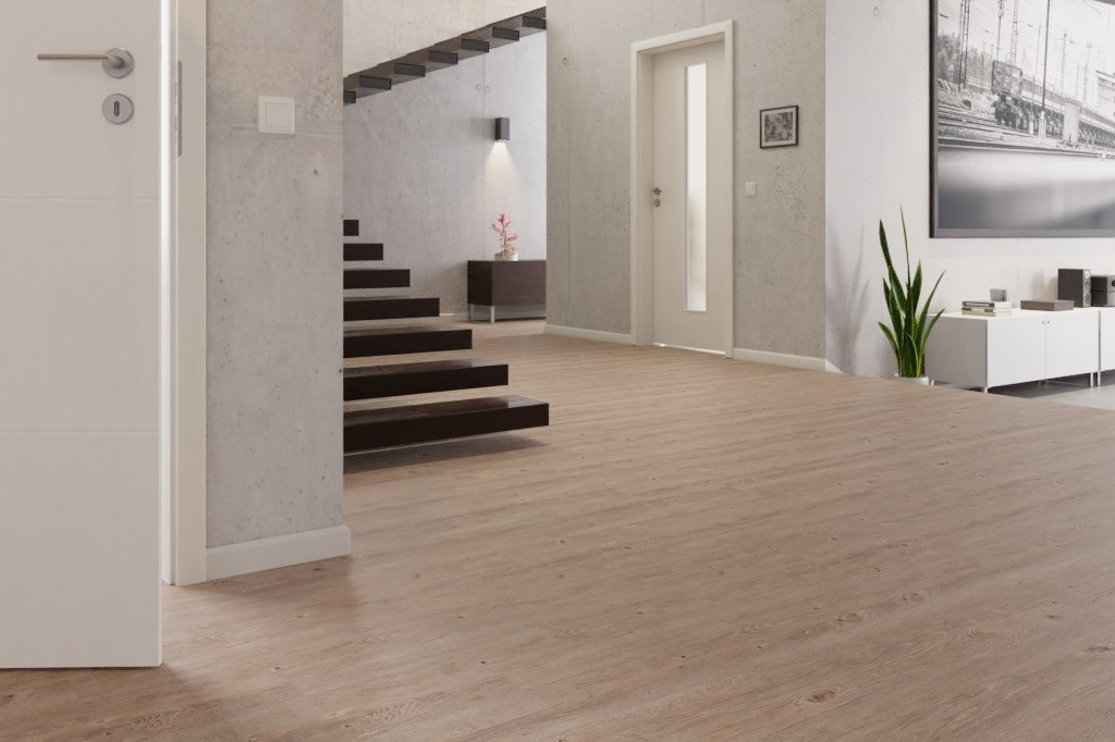 Toscany Kiefer Grey vinyl wineo 600 wood - wineo Milieu Penthouse_03
