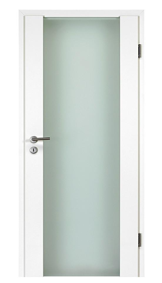 Häufig Holz-Glas-Tür Vito Weißlack - Lebo » DeineTür.de LJ68