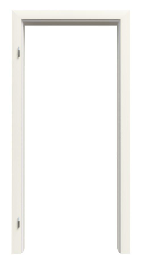 Zarge Weißlack RAL 9010 Premium ZA-01 mit Rundkante