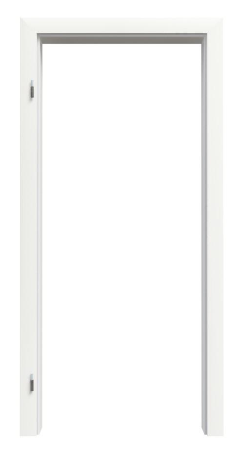 Zarge Weißlack RAL 9016 Premium ZA-01 mit Rundkante