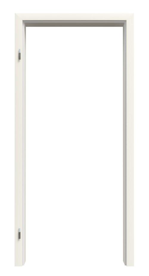 Zarge für Wohnungseingangstüren Weißlack RAL 9010 Premium ZA-09 mit Rundkante