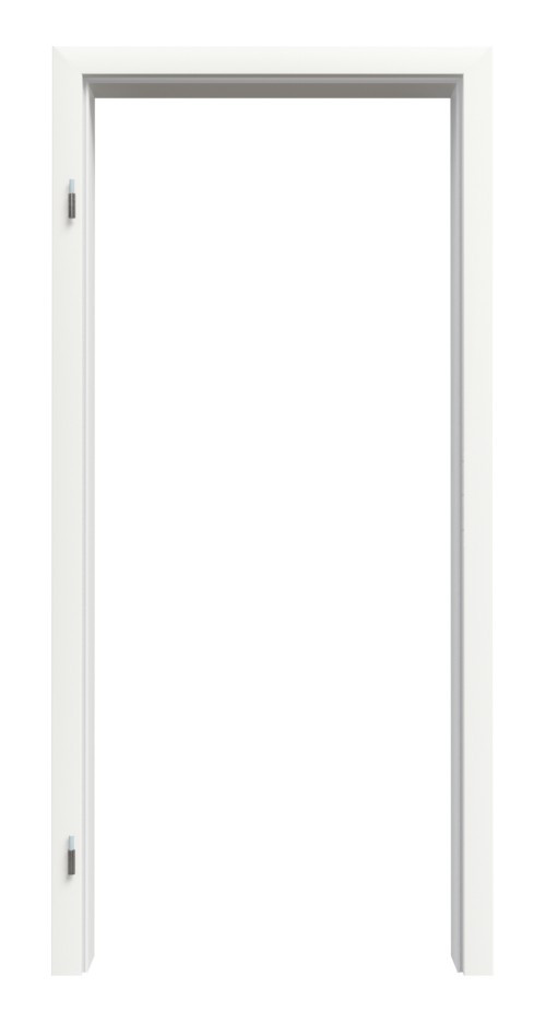 Profilzarge für Wohnungseingangstüren Weißlack RAL 9016 Premium ZA-14