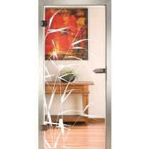 Schilf Glastür Piktura Loft - Sandstrahldesign