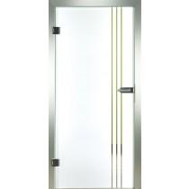 Lines Glastür Piktura Loft - Siebdruckdesign