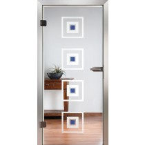 College Glastür Piktura Loft - Applikationstür