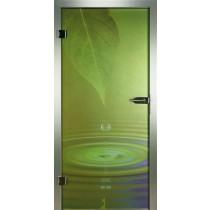 Waterdrop Glastür Piktura Loft - Farbdrucktür