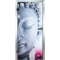Buddha Glastür Piktura Loft - Farbdrucktür