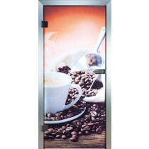 Coffee Glastür Piktura Loft - Farbdrucktür