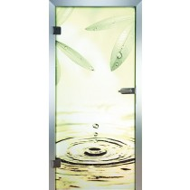 Oase Glastür Piktura Loft - Farbdrucktür