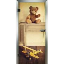 Teddy Glastür Piktura Loft - Farbdrucktür
